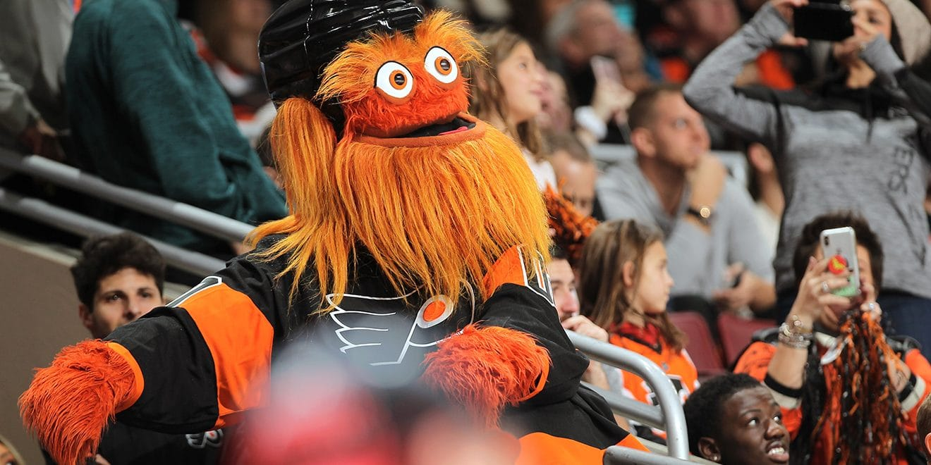 how the flyers created gritty the internet s most beloved mascot