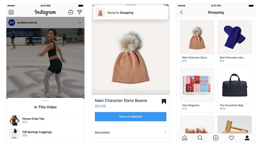 Instagram Rolls Out 3 New Features to Make Shopping Even