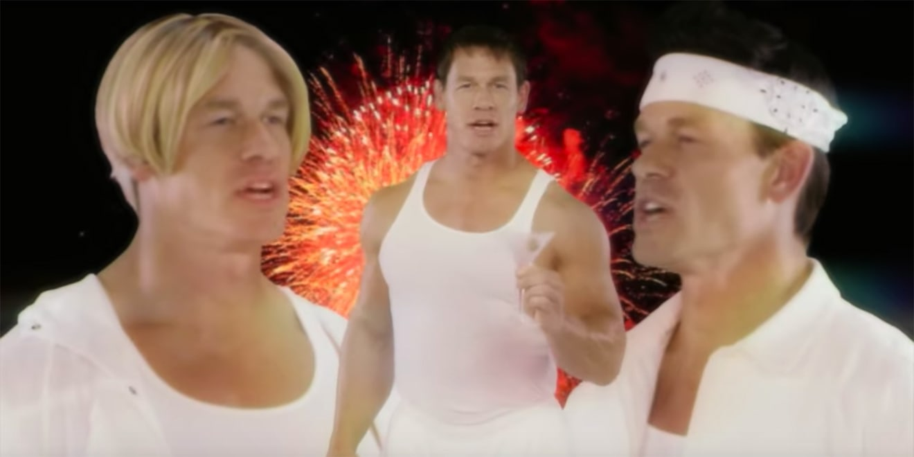 John Cena Leads a Boy Band Made Entirely of John Cenas in Skyy\'s ...