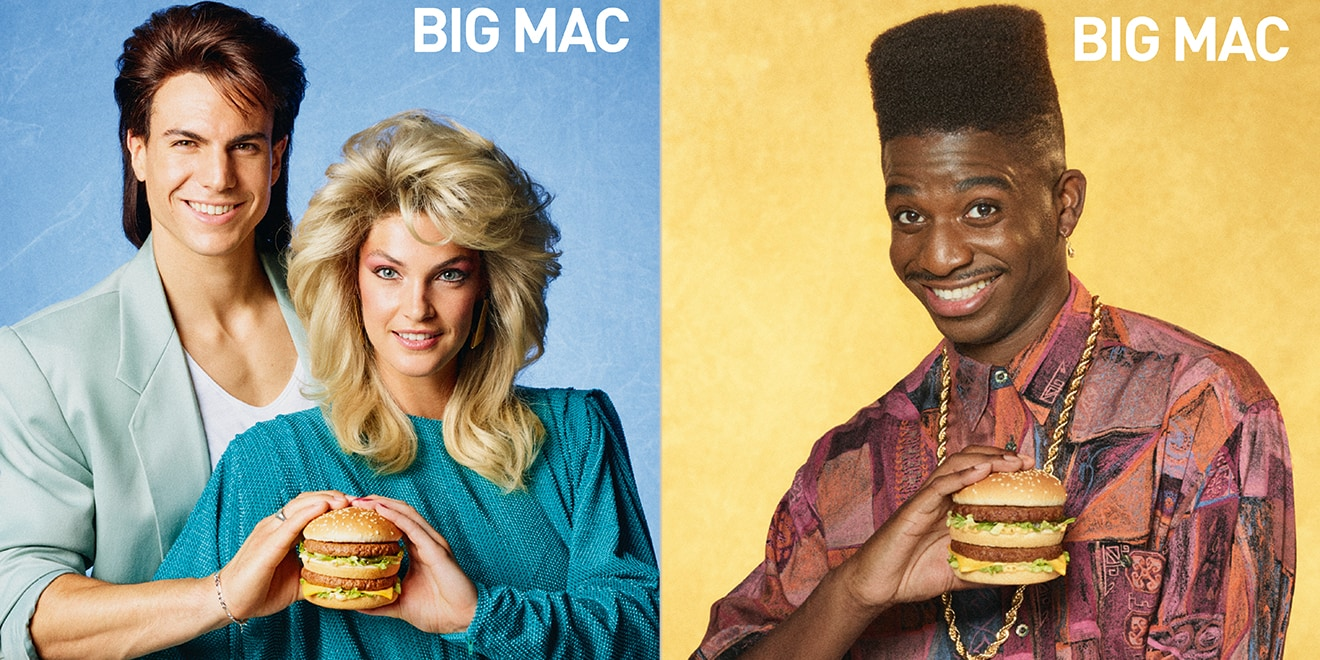 mcdonald s made a series of perfectly retro posters to celebrate its