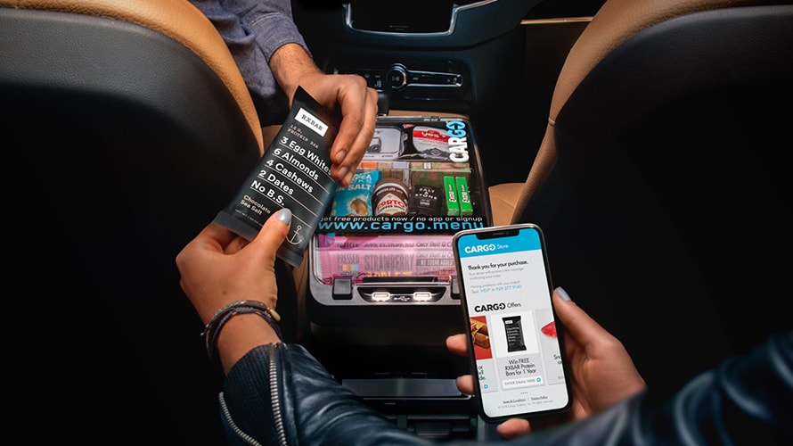 Your Uber Is Arriving, With a Vending Machine