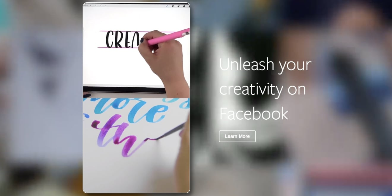 Facebook Wants to Be a Source of 'Inspiration' for the Creative Community