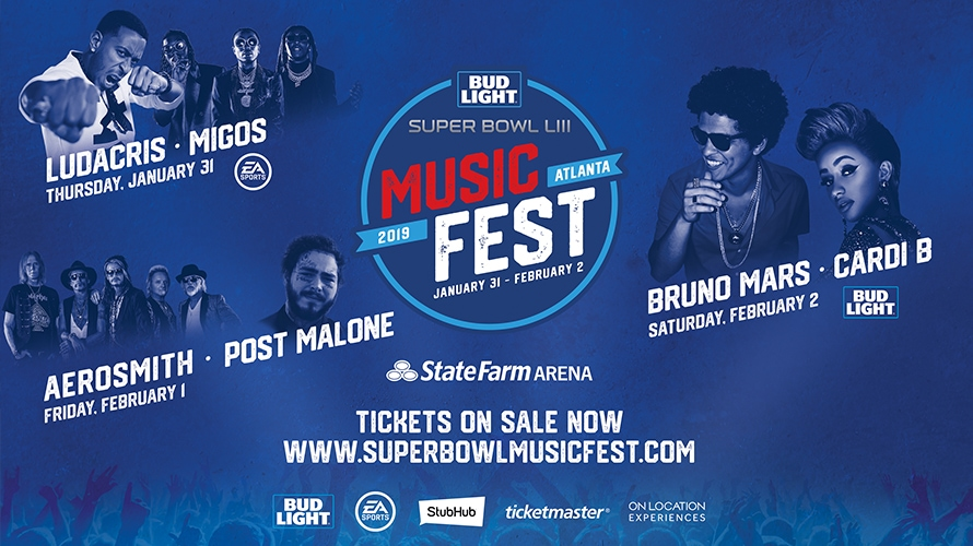Bud Light Brings Its Love of Music and Sports Together With a Super Bowl Music Festival