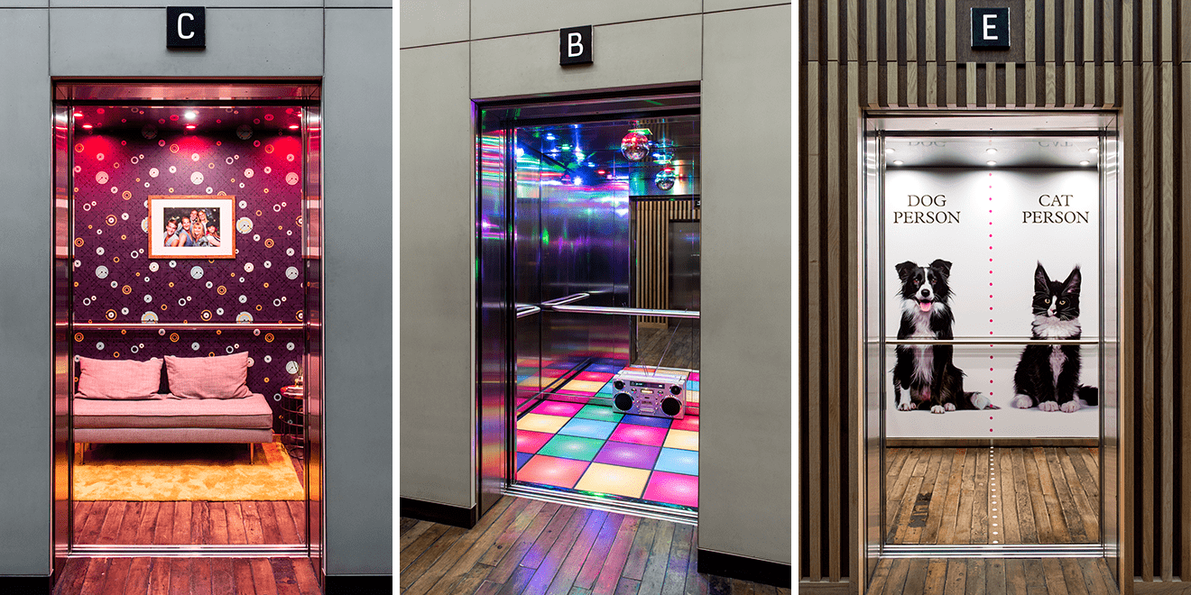 This London Agency Gave People a Lift by Redesigning Their Elevators