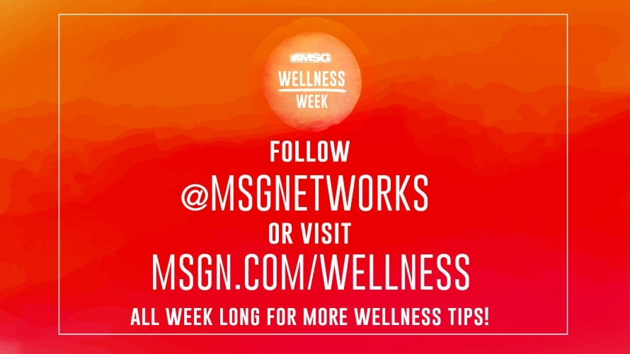 MSG Networks' Wellness Week Will Promote Healthy Living on Digital, Social