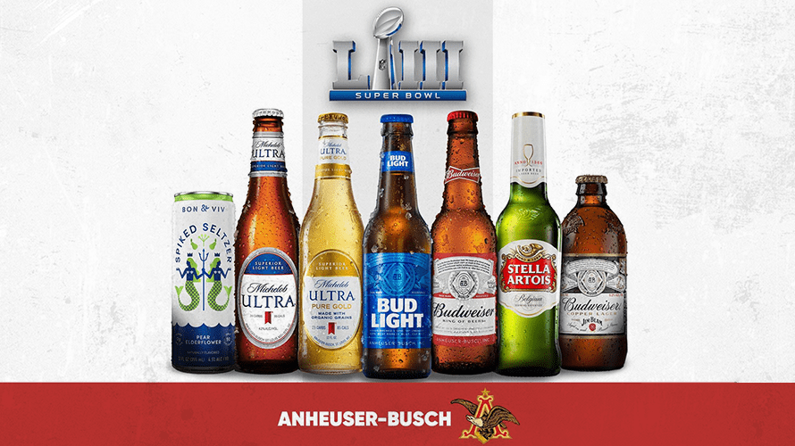 Anheuser-Busch's Biggest Super Bowl Push Ever: 5 Brands, 7