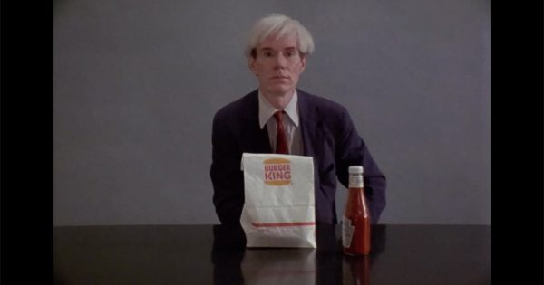 How Burger King Turned Documentary Footage of Andy Warhol Eating a Whopper Into Its Super Bowl Ad