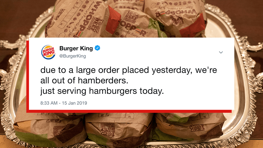 Burger King Trolls President Trump, Plus How More Brands Are Responding to the Government Shutdown