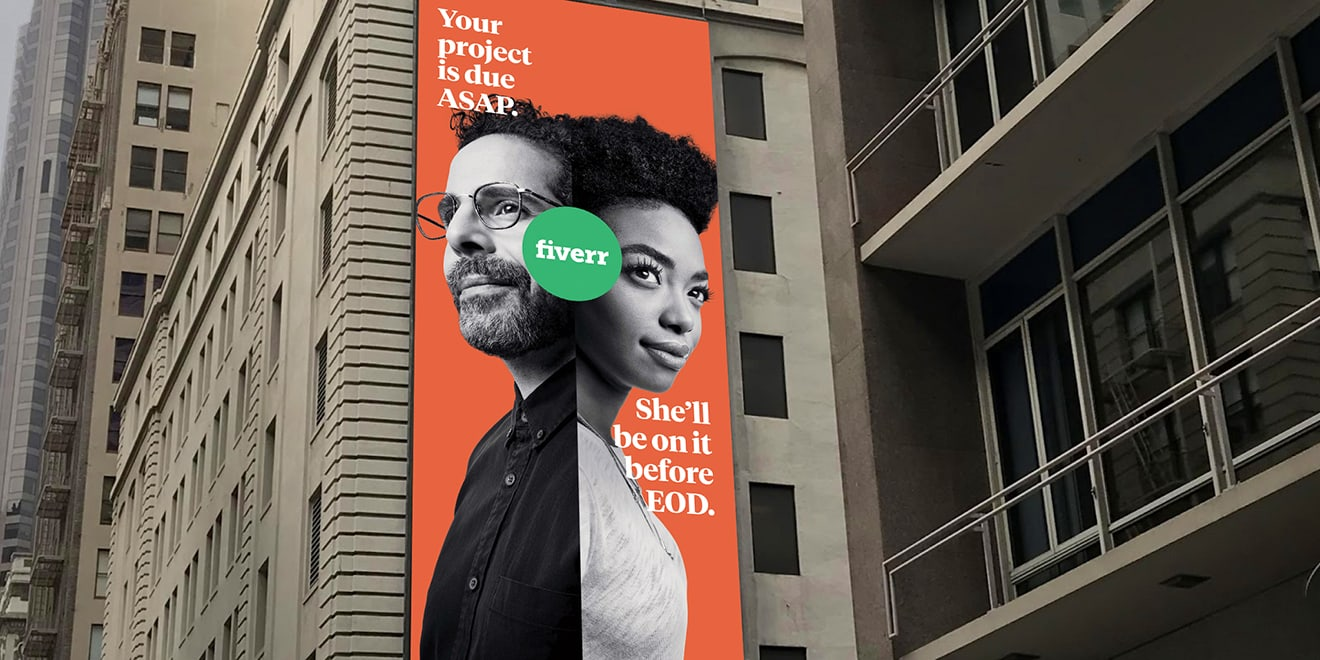 Fiverr's Ads, Meant to Celebrate the Gig Economy, Also Keep Fueling