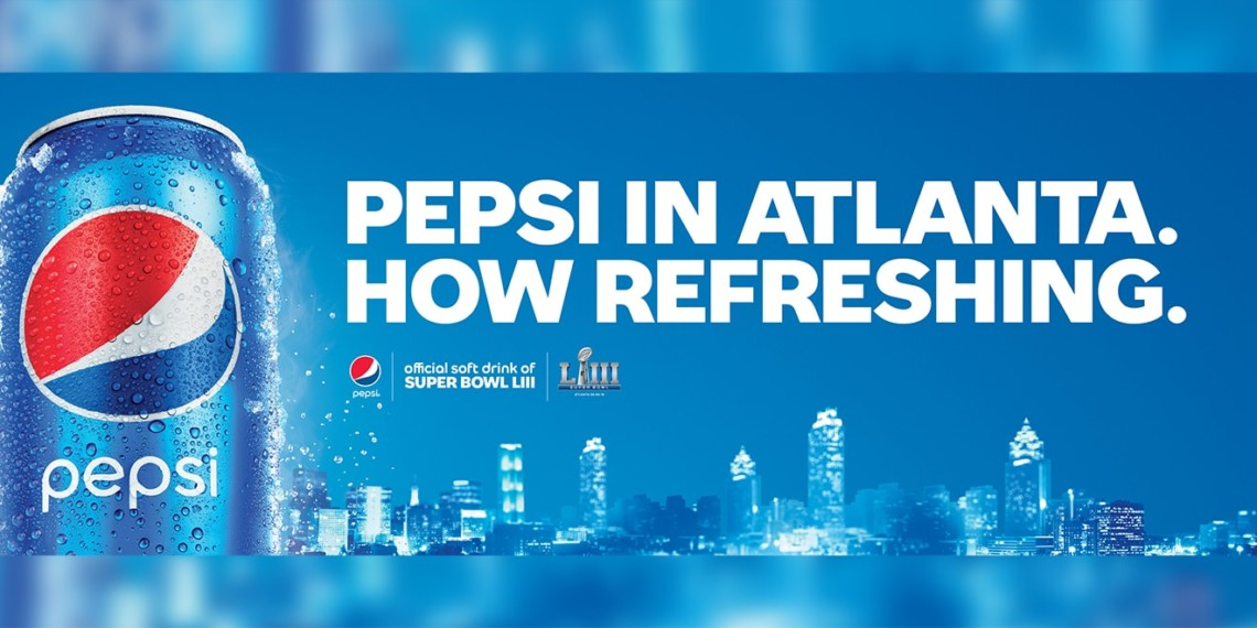 Pepsi Is Blanketing Coke's Hometown With Ads as Atlanta