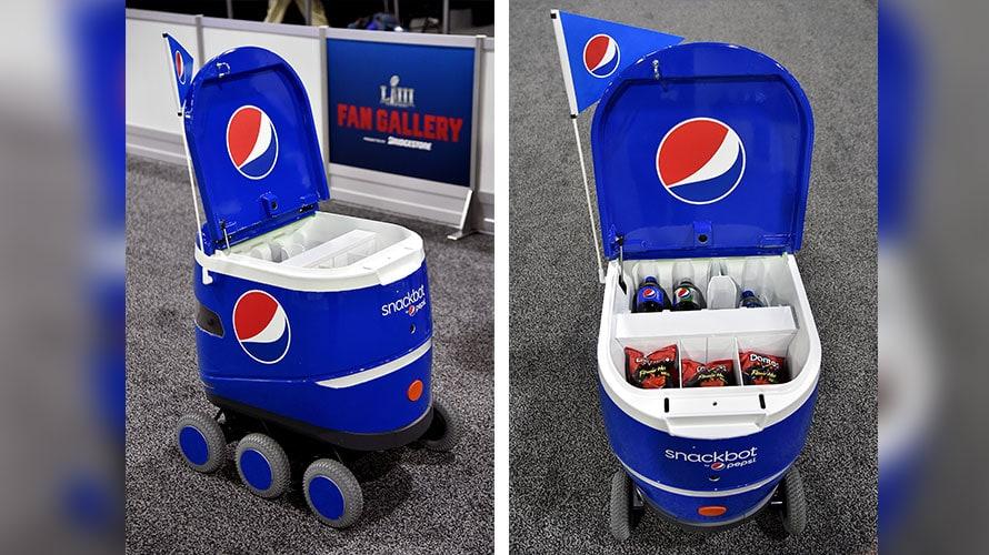 6120e465cd0c6e Pepsi's autonomous delivery vehicle is expanding its horizons.