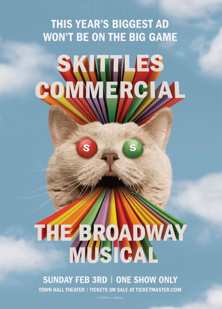 How Skittles Merged Theater and Advertising to Create a