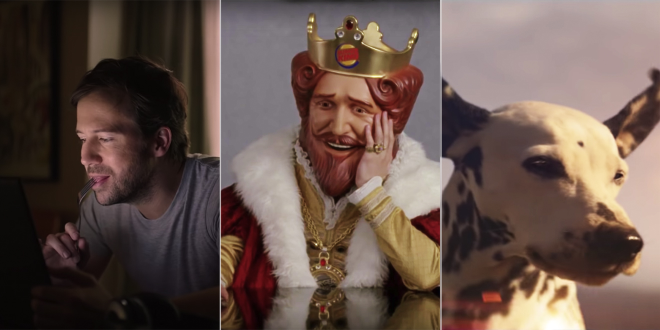Still shots from Super Bowl LIII ads by David Miami