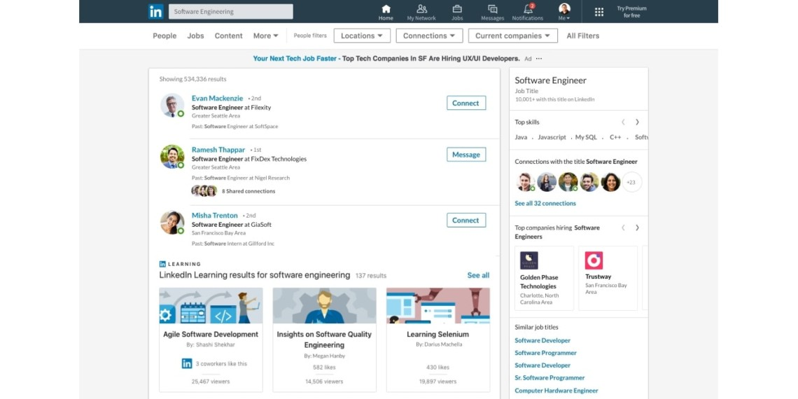 LinkedIn Just Added a Flurry of Features for Members Looking for New Positions