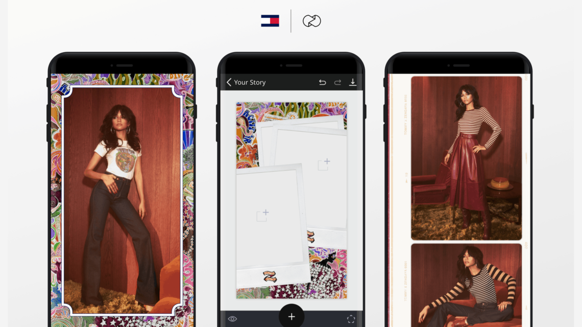 Unfold Partnered With Tommy Hilfiger to Launch Instagram