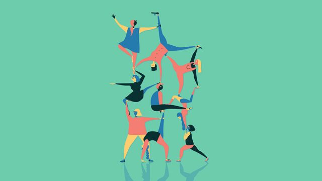 gymnastic tapestry
