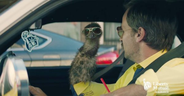 liberty mutual gets into the insurance mascot game with