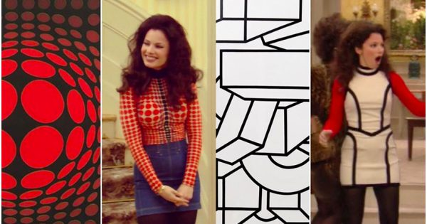 The Story Behind Instagram's Addictive Account Linking The Nanny Costumes to Modern Art