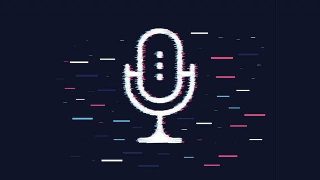 An image of a radio microphone
