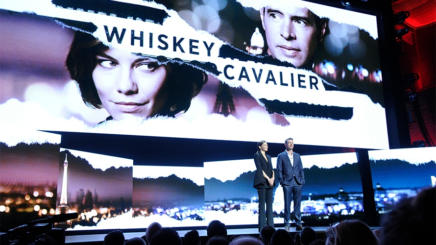 ABC's Whiskey Cavalier, the Butt of Jimmy Kimmel's Upfront Jokes, Hopes to Get the Last Laugh