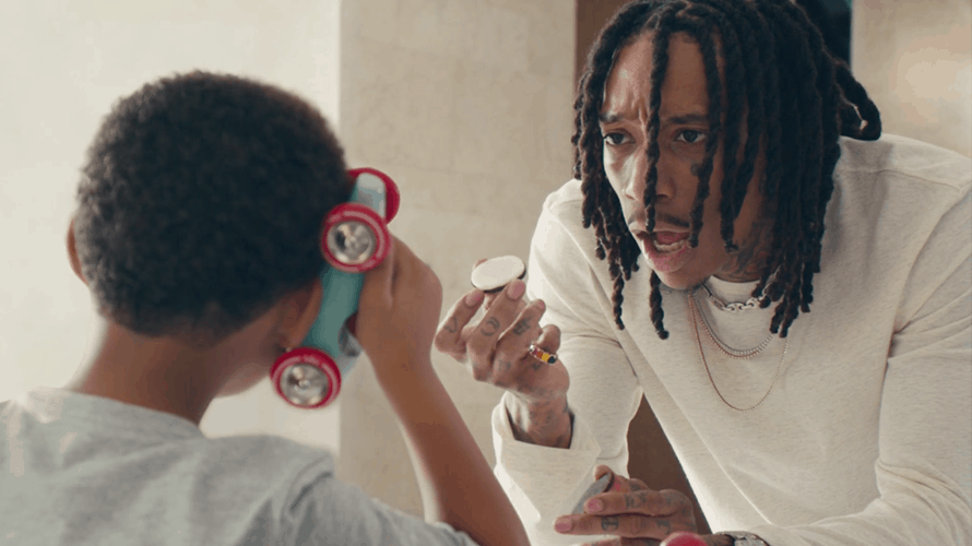 Wiz Khalifa stars in an Oreo advertisement