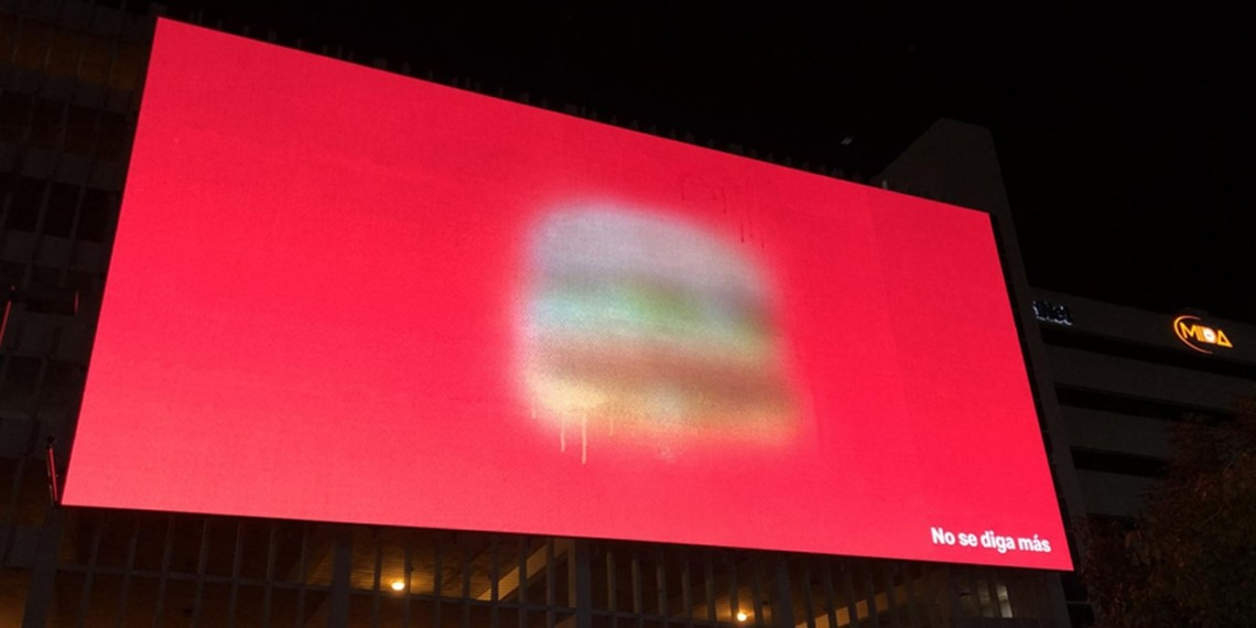 McDonald's and TBWA's Blurry Big Mac Billboards Are Totally Ingenious