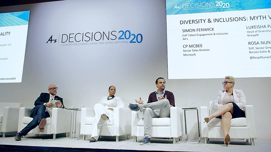 4A's Panel: 'Diversity of Thought Without Diverse Representation Is