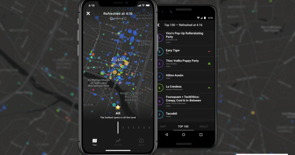 Foursquare Is Testing a New Location Feature During SXSW