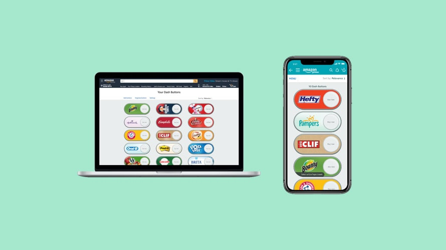 Amazon Will No Longer Sell Physical Dash Buttons
