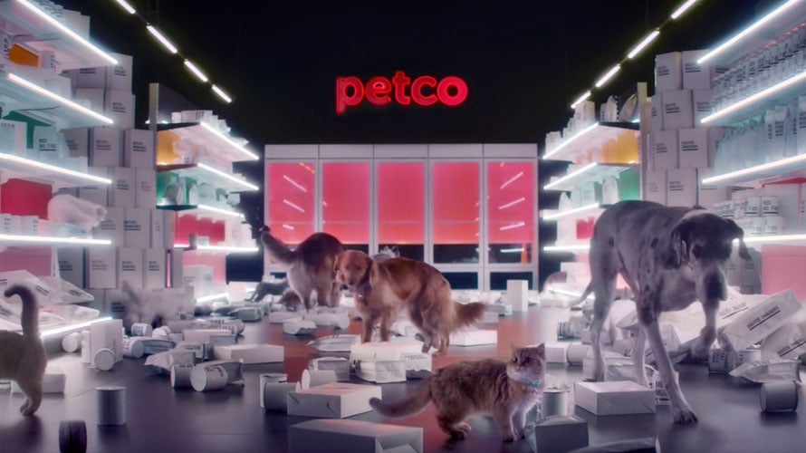Dogs and Cats Rid Pet Food of Artificial Ingredients in Anomaly's First Work for Petco