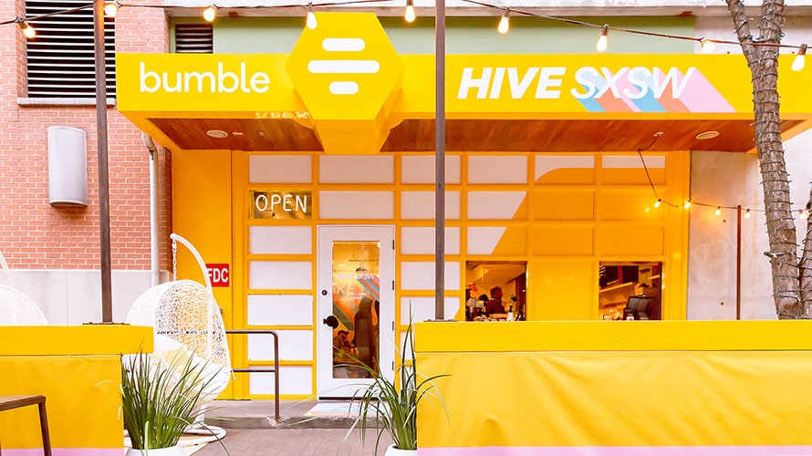 Bumble Is Using SXSW to Make Intimate Connections With Attendees