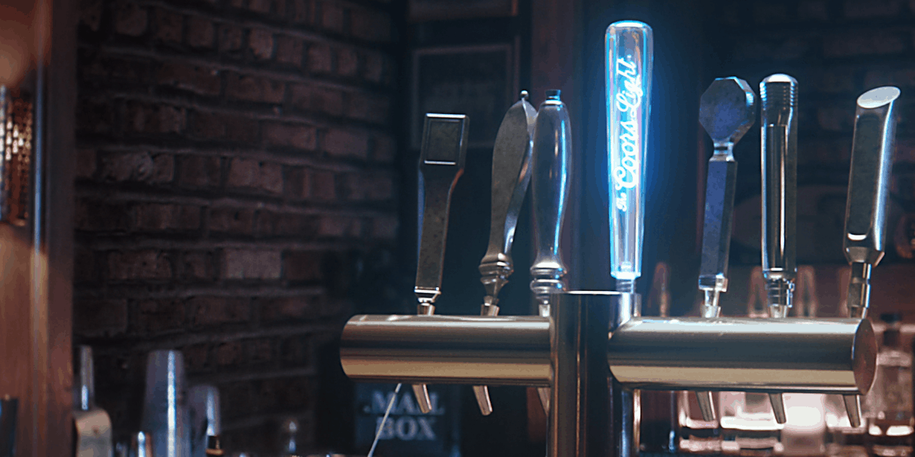 Coors Light Rolls Out a Tap That Glows and Dispenses Free Beer When It Hears Bud Light Ads