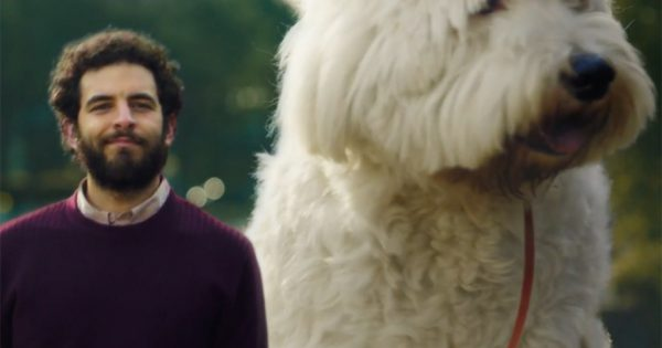 The Giant Dog in This Ad Represents Something You Might Not See Coming. Then It Hits You