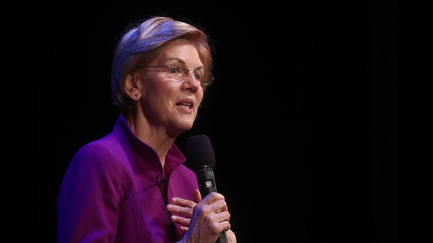 Elizabeth Warren's Plan to Break Up Tech Giants Is to 'Protect Competitive Markets'