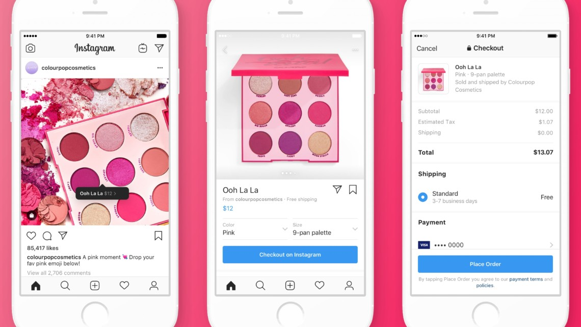 Image result for instagram checkout feature