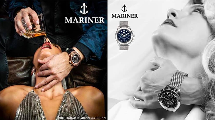 These Sexist Ads for Luxury Watches Sparked Anger and