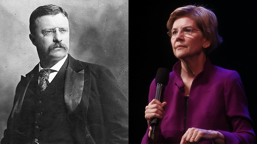 Why Elizabeth Warren Is the Teddy Roosevelt of 2019