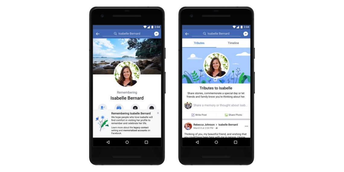 Facebook Rolled Out a Tributes Section for Memorialized Accounts