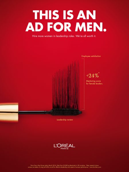 L'Oreal's Bold New Ad Campaign Has a Message for Men: Hire ...