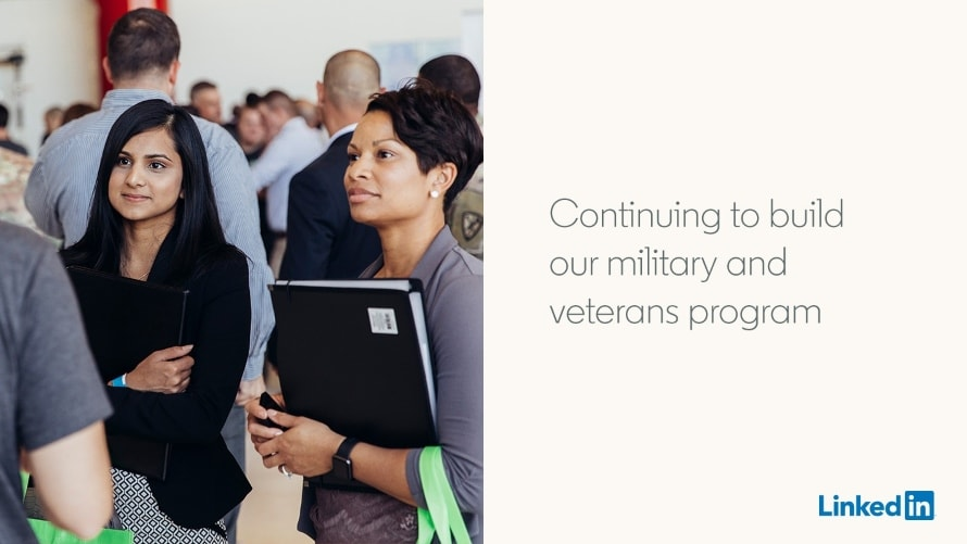 All Military Spouses Will Be Able to Access LinkedIn Premium Starting in May