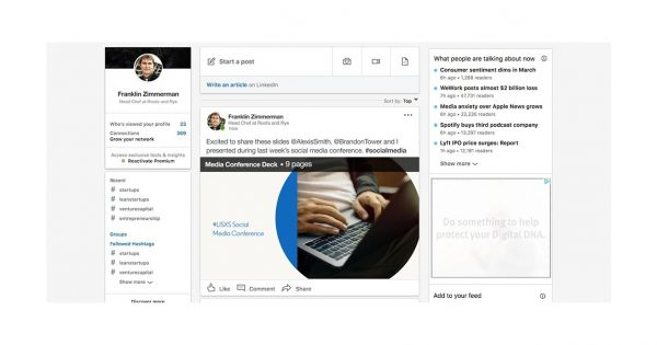 LinkedIn Just Gave Users the Ability to Upload Documents and Presentations