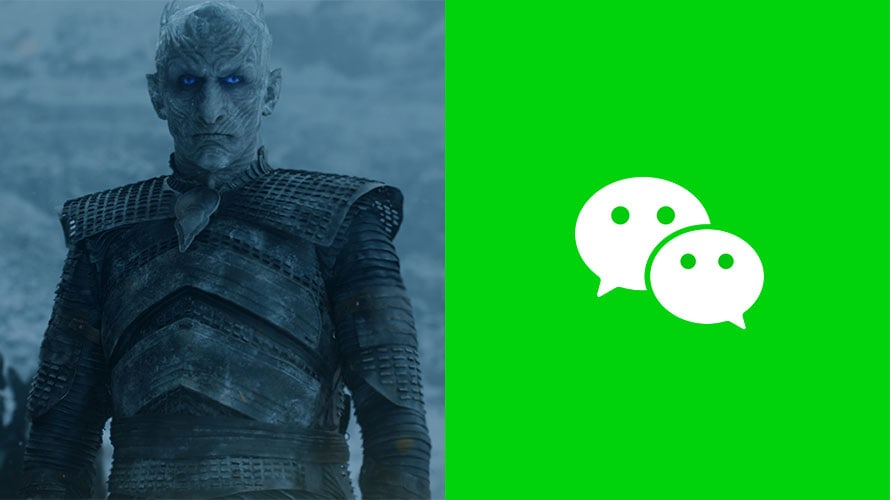 Night King from Game of Thrones WeChat