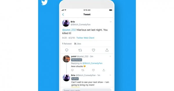 Twitter Is Testing Labels to Make Conversations Easier to Join and Follow