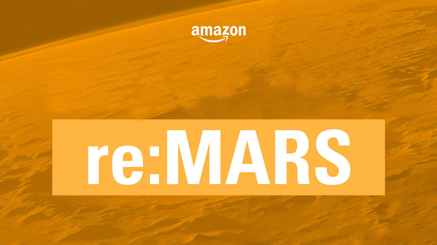 Amazon Is Running a Contest on LinkedIn to Give Away a Pair of Tickets to re:MARS