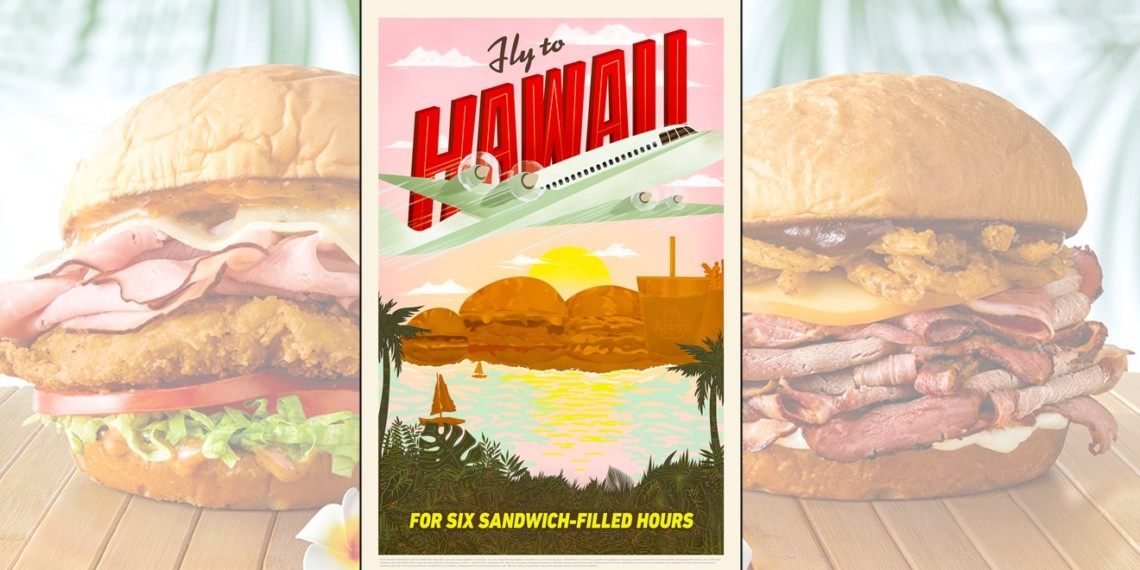 15,000 People Responded to Arby's Offer of a One-Day, $6 Trip to Hawaii