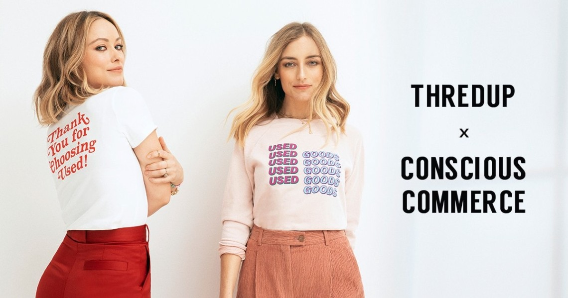 Fast Fashion Is Destroying the Planet. Olivia Wilde and ThredUp Want to Give Clothing a Second Life