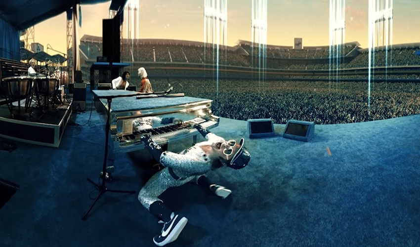 How a Creative Studio Brought Elton John's Career to Life in Virtual Reality