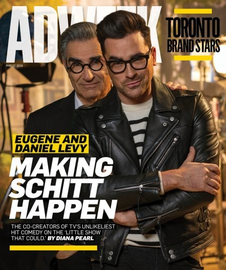 Talking Schitt With Eugene Levy and Daniel Levy, Creators of the