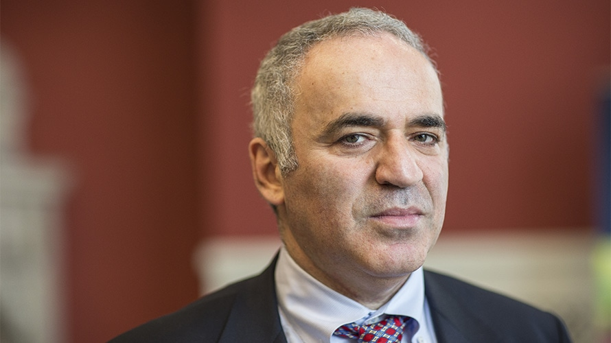Former Chess Champion Garry Kasparov on Competing Against Artificial Intelligence