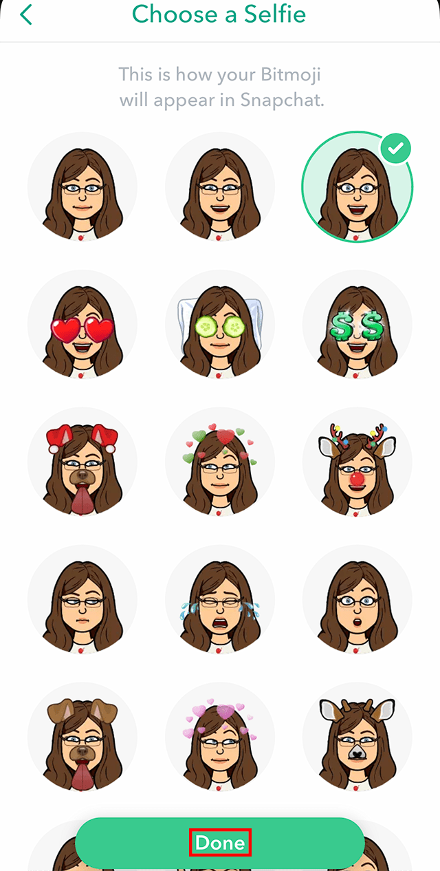 How to change snapcode picture